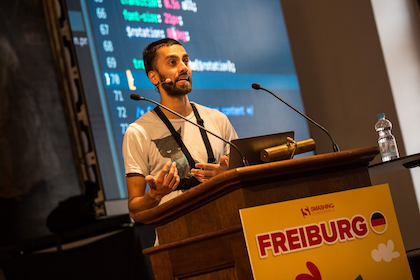 Speaking for SmashingConf