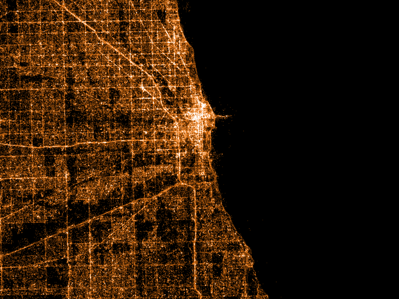Map chicago